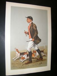 Vanity Fair Print 1902 John Otho Paget, Fox Hunting